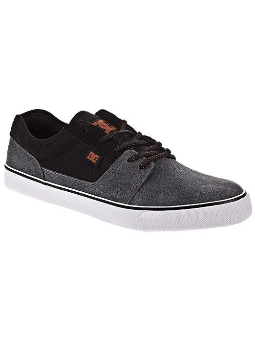 DC Shoes Tonik Sneakers Skateboardschuhe Herren Damen Unisex Erwachsene Grau/Schwarz