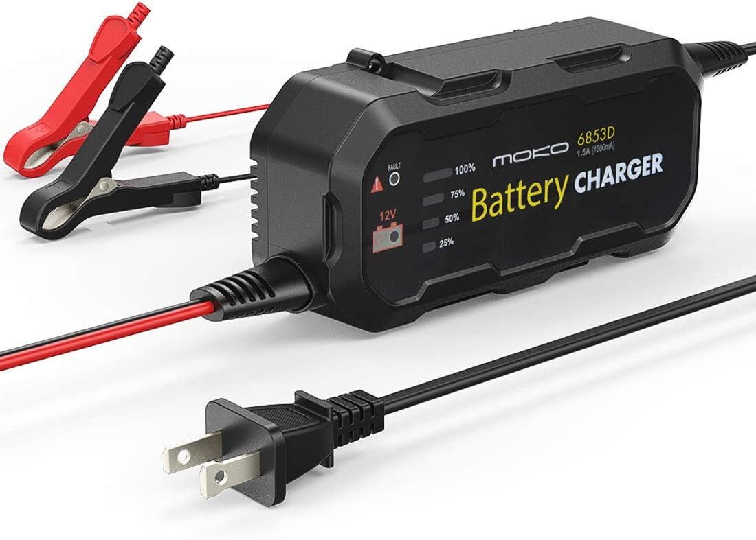 US Plug 12V 5A Lead-acid Battery Charger with Constant Floating Protection