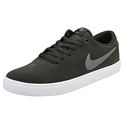 online store e94da 70c1c Nike SB Check Solar, Chaussures de Skateboard Mixte Adulte, Multicolore  (Sequoia Gunsmoke