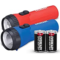 EVEREADY LED Flashlight Multi-Pack, Bright and Durable, Super Long Battery Life, Use for Emergencies, Camping, Outdoor…