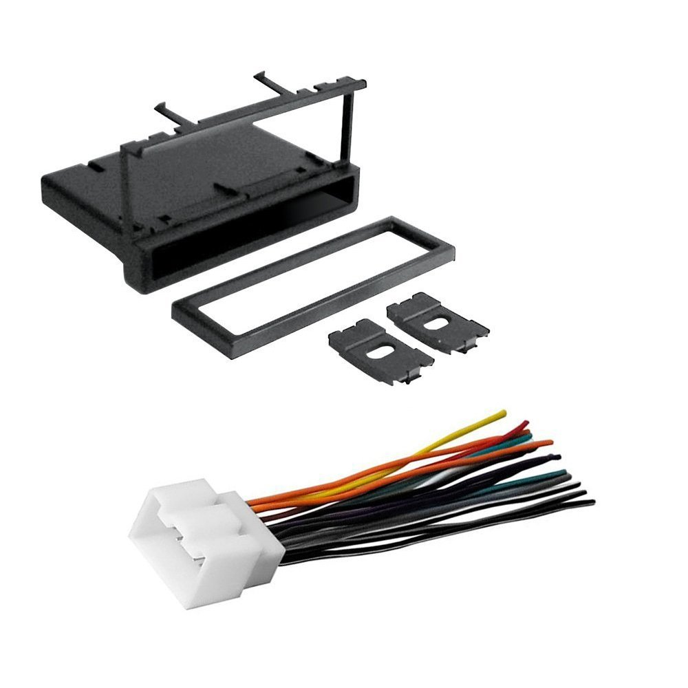 Amazon.com: CAR CD STEREO RECEIVER DASH INSTALL MOUNTING KIT WIRE HARNESS  FORD LINCOLN MERCURY 1994- 2011: Car Electronics