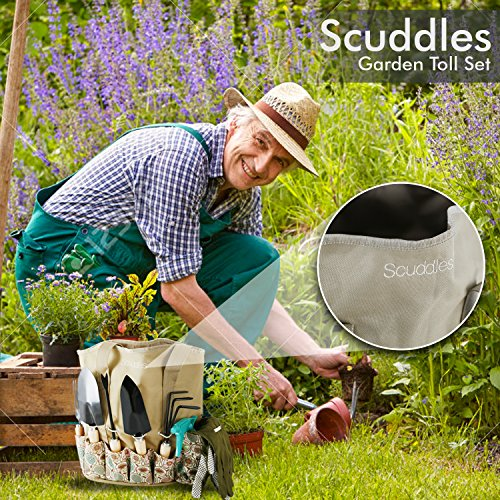 Scuddles heavy duty gardening tool set garden storage for Ladies garden trowel set