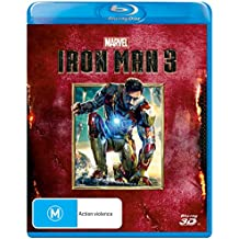 Iron Man 3 (3D Blu-ray) Blu-ray