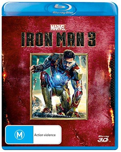 Iron Man 3 (3D Blu-ray) Blu-ray (Movie Man 3 Iron)