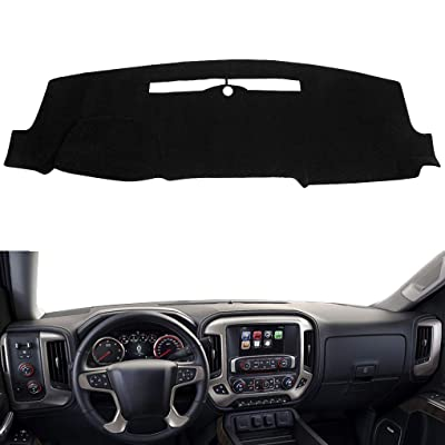Yukon Gray Armrest Ctr Console Cover Synthetic Leather For 14-18 Chevy Tahoe
