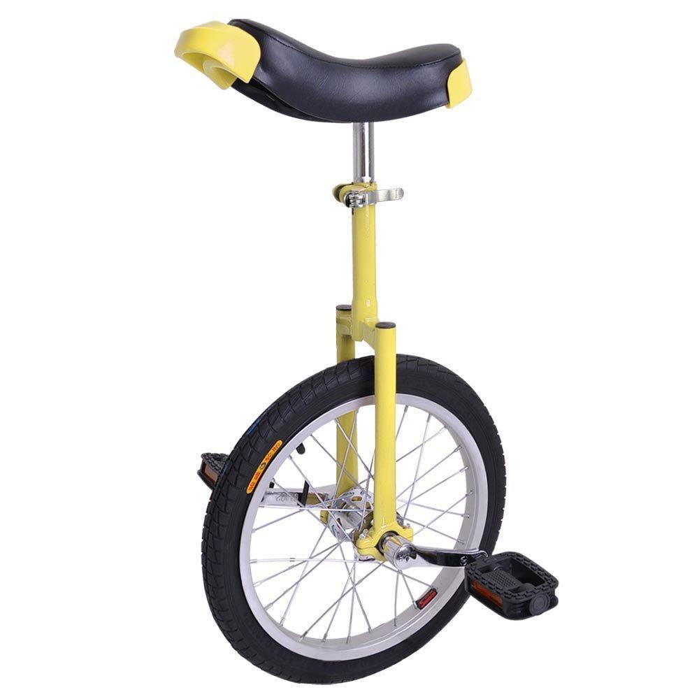 Triprel Inc 16'' Inch Wheel Performance Unicycle - YELLOW