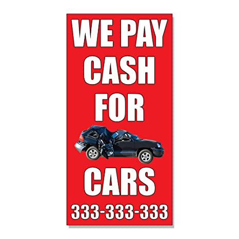 Highest Paying For Junk Cars >> Amazon Com We Pay Cash For Junk Cars With Image Decal