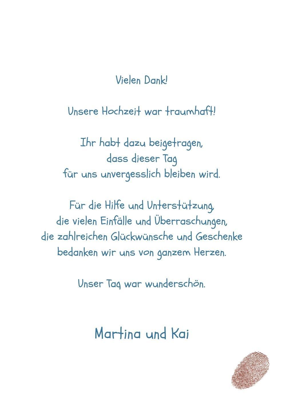 Kartenparadies Danksagung Danksagung Danksagung für Hochzeitsgeschenke Hochzeit Dankeskarte fingerprint, hochwertige Danksagungskarte Hochzeitsglückwünsche inklusive Umschläge   20 Karten - (Format  105x148 mm) Farbe  RosaLila B01N13BYY3 | Genialität  | Ve 70f636