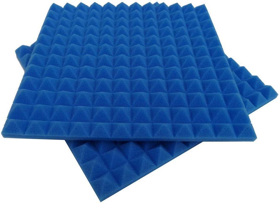 Schallschutzplatte Schwamm Studio KTV Schallschutz fasloyu 1 St/ücke Akustikschaum Schallschutzplatte Schallschutz Eckwand in Studios oder Heimkino Blau