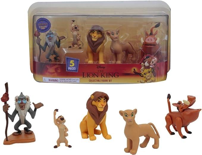 Giochi Preziosi Disney Re Leone - Juego de 5 Figuras: Amazon.es ...