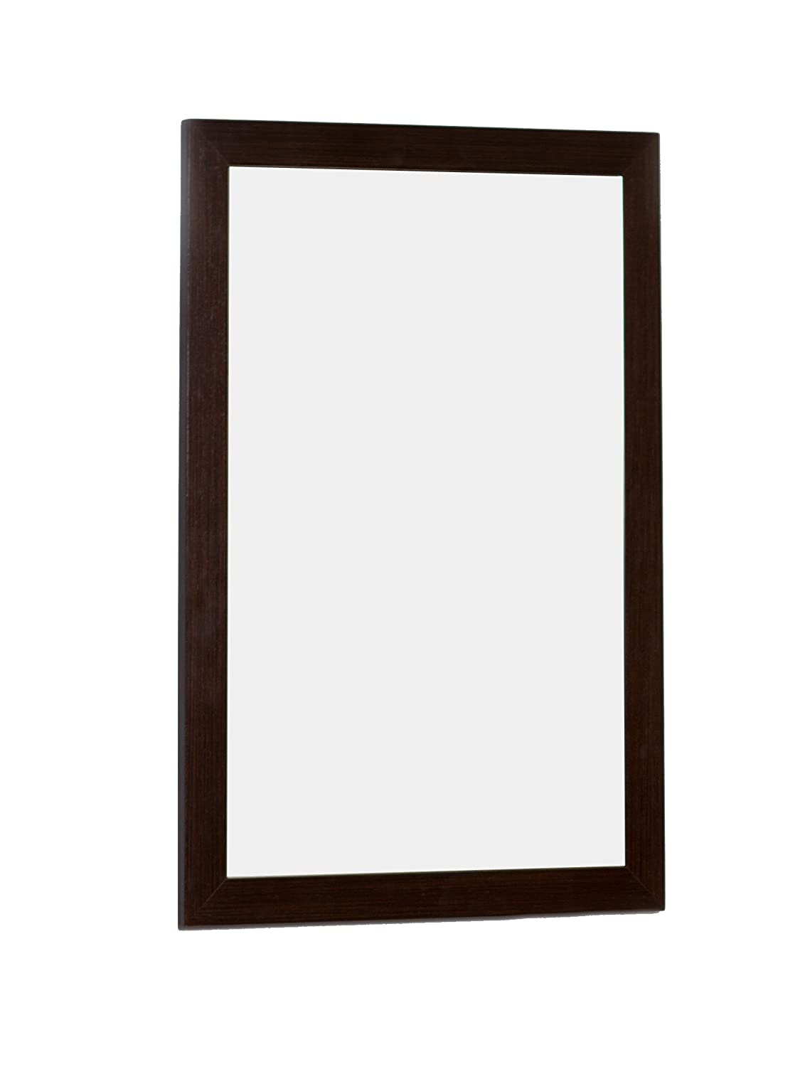 American Imaginations AI-4-1163 Modern Plywood-Melamine Wood Mirror, 21.5-Inch x 31.5-Inch, Wenge Finish