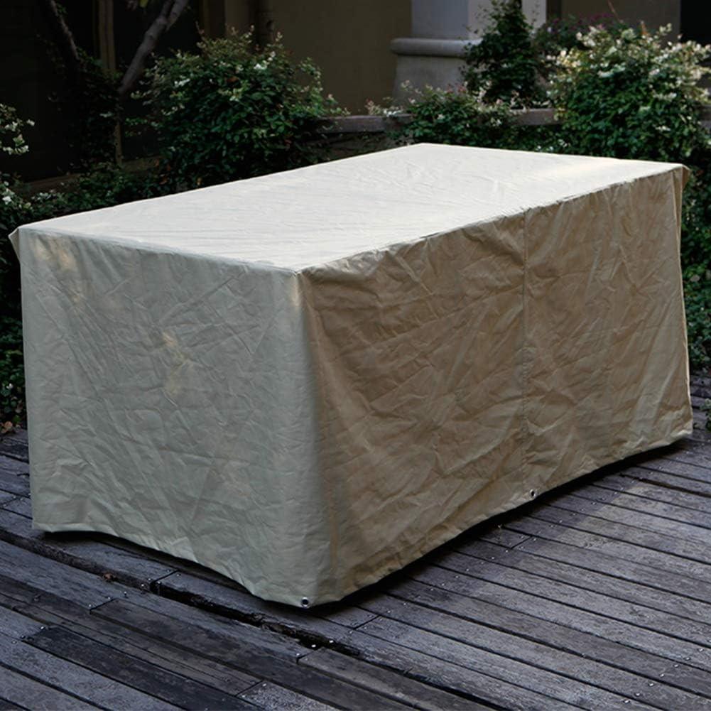 家具カバー ファニチャーカバー ガーデンラタン家具カバー オックスフォード布 家具機械装置 防水 防塵 抵抗力がある、 22サイズ、 カスタマイズ可能 JFIEHG-7 (Color : Beige, Size : 240x140x90cm)