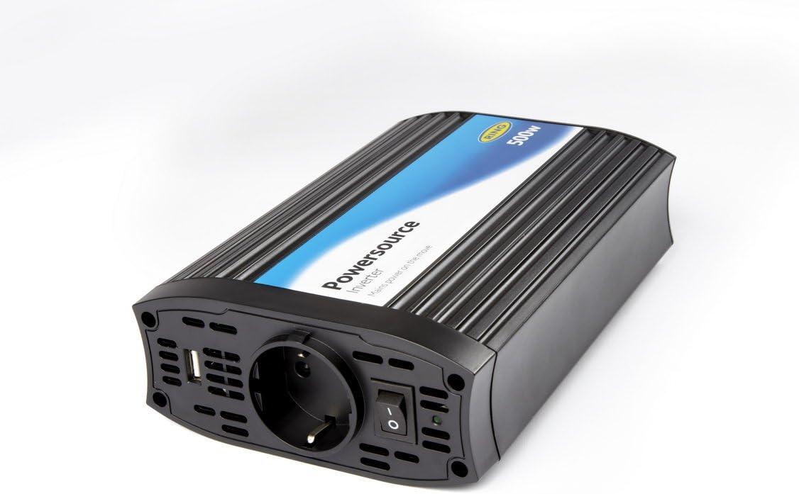 Ring Automotive REINVU500 500 Watt Wechselrichter mit 2.1 Amper USB Anschluss 12 V