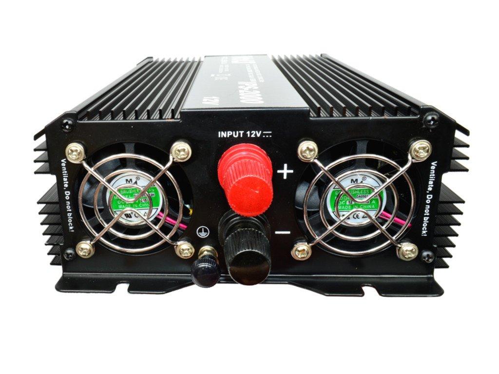 IPS-2000-12V Spannungswandler Wechselrichter Reiseadapter Inverter 1300//2000W 12V 230V