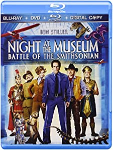 Cover Image for 'Night at the Museum 2: Battle of the Smithsonian (Three-Disc Edition + Digital Copy + DVD)'