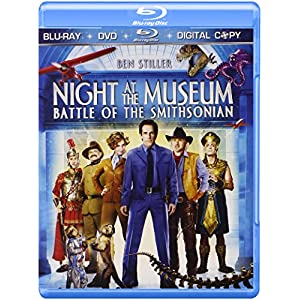 Night at the Museum: Battle of the Smithsonian (Three-Disc Blu-ray/DVD/Digital Copy) (2009)