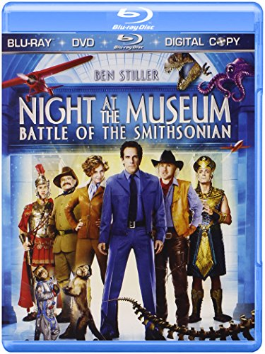 Price comparison product image Night at the Museum: Battle of the Smithsonian (Three-Disc Blu-ray/DVD/Digital Copy)