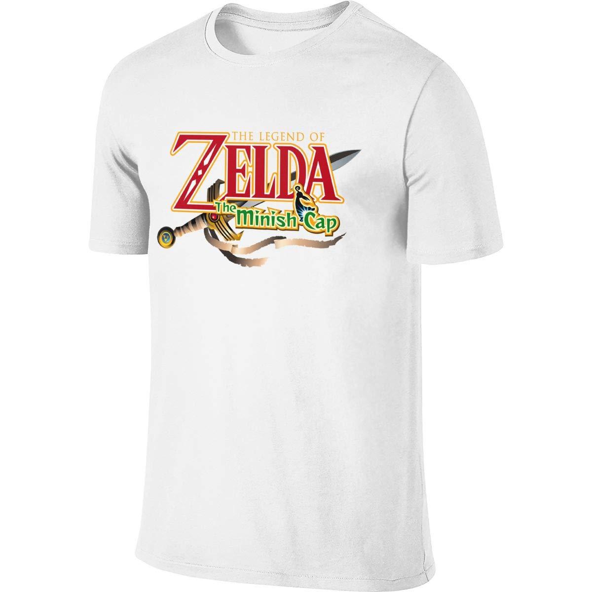 Syins S Customized Fashion Tops The Legend Of Zelda Logo The Minish Cap T Shirts