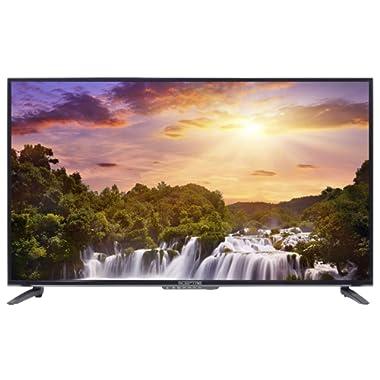Sceptre 43  Class Fhd (1080p) LED TV Memc 120 3X HDMI, Metal Black 2019 (X435BV-FSR), Black