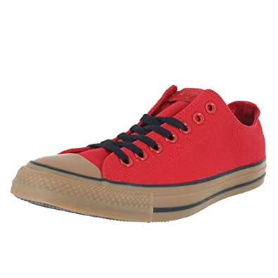 eb3fdbac969a Converse All Star Low TOP RED Gum Black Size 5.5