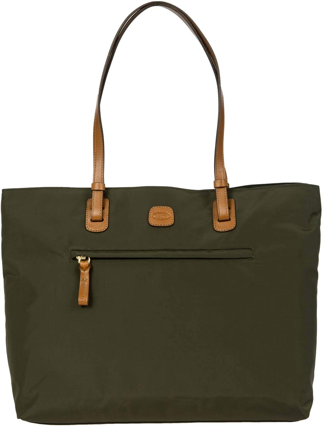 Bric's Women's x-Travel 2.0 Ladies' Business Laptop Tablet Tote Bag, Olive, One Size