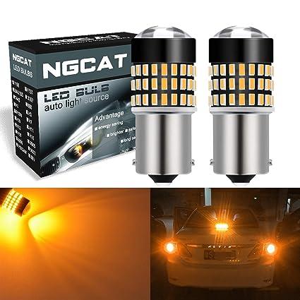 NATGIC 1156 BA15S 7506 Bombillas LED 1800LM 3014SMD 78-EX Chipsets ...