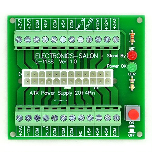 Decade Capacitor (Electronics-Salon 24/20-pin ATX DC Power Supply Breakout Board Module.)