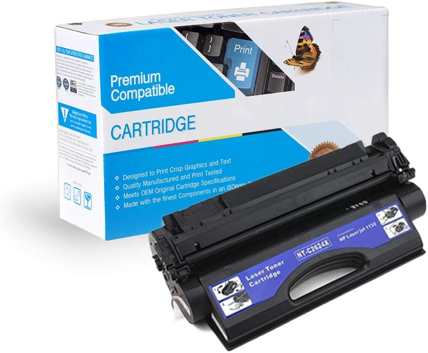 On-Site Laser Compatible Toner Replacement for HP Q2624A Q2624X 1150N Works with: LaserJer 1150 Black