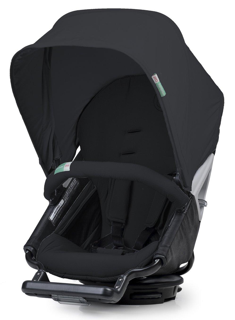 Orbit Baby 710000b–Housse et capote pour poussette de promenade, couleur noir ORB710000B