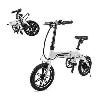 SwagCycle EB-5 Pro bicicleta eléctrica plegable de aluminio ...