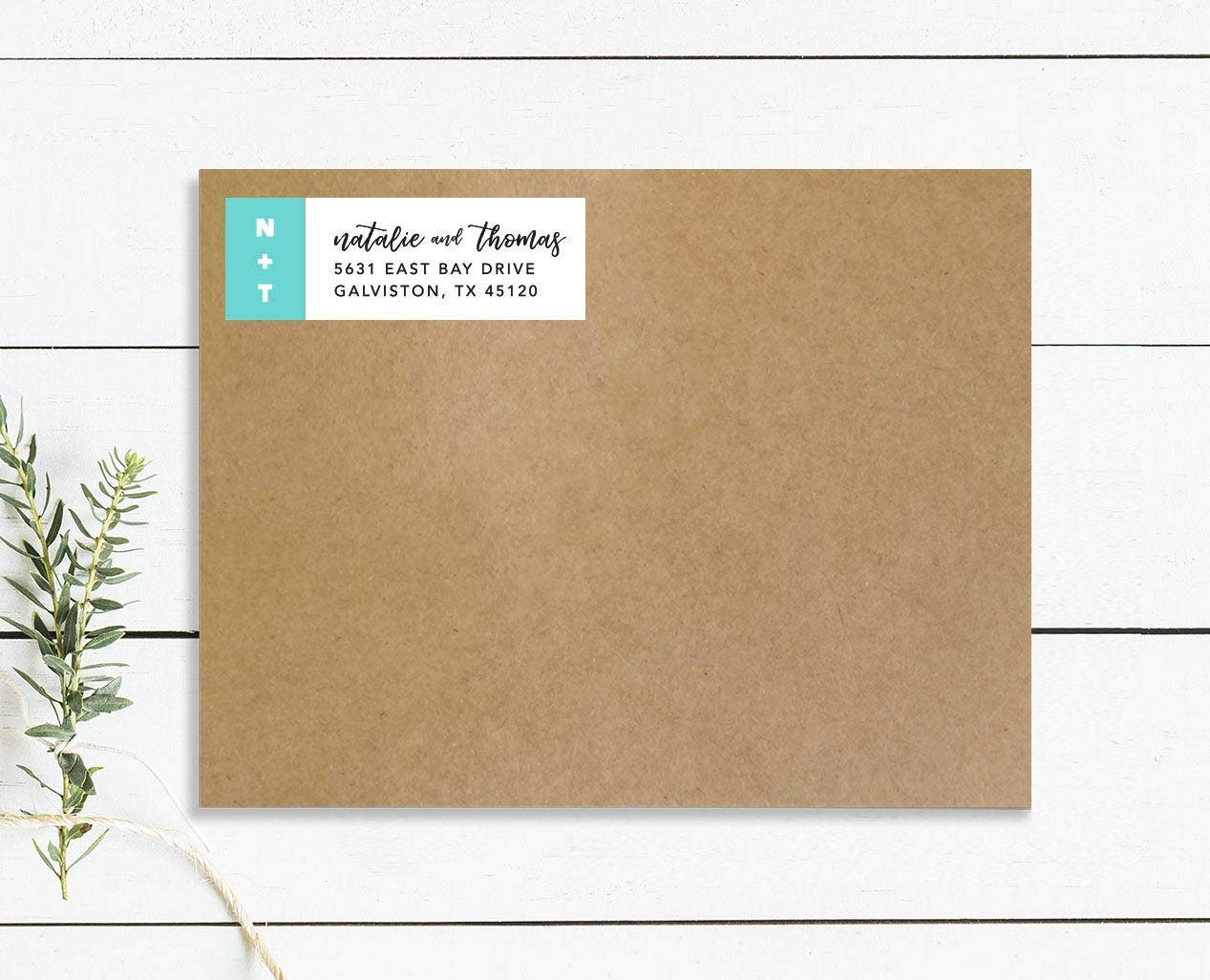 Personalized Address Stickers 12:13 Monogram Return Address Labels Modern Return Address Label Wedding Address Labels