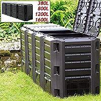 Deuba Compostador termocompostador (compostador rápido 380L – TI-1600L