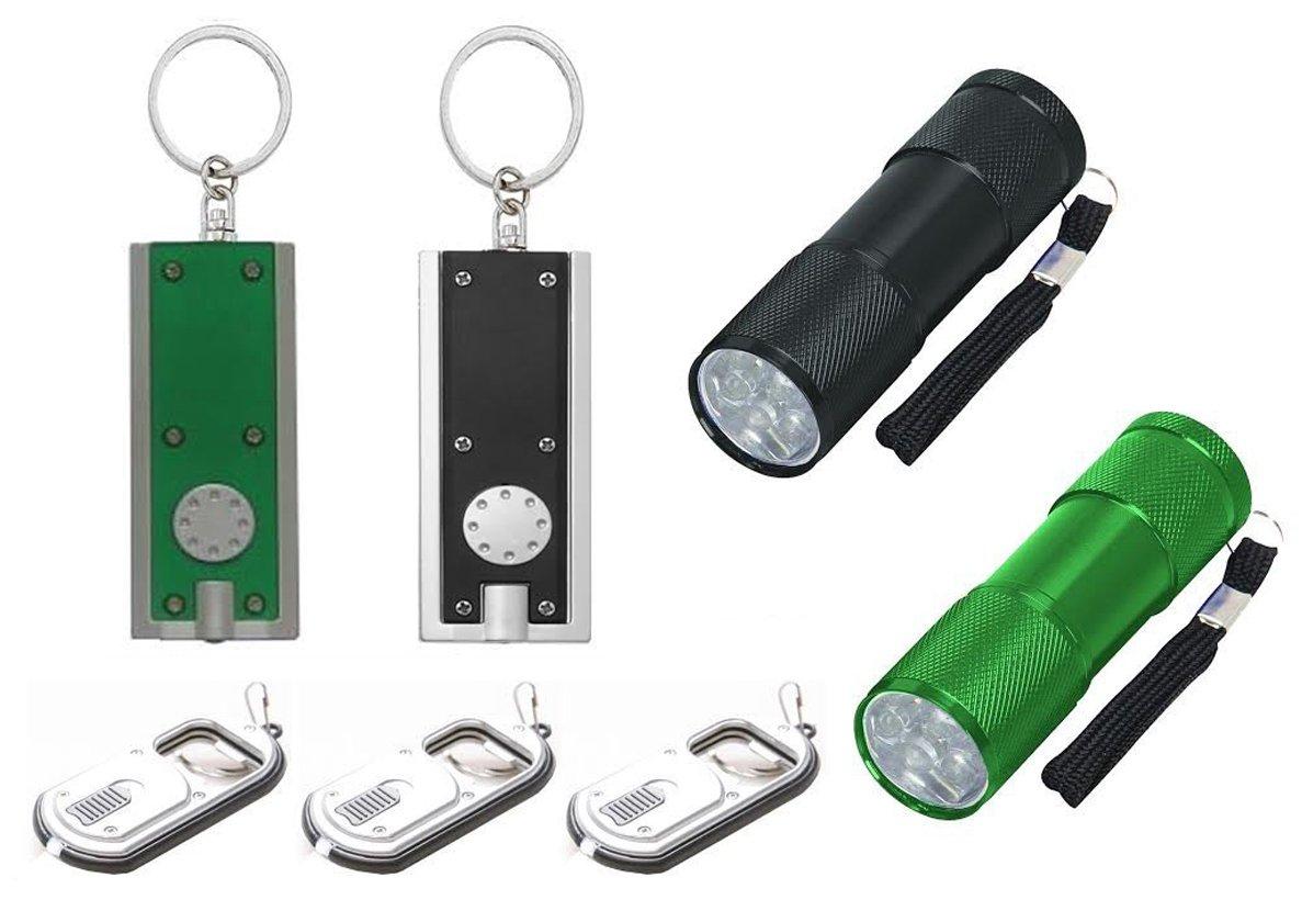 Flaschenöffner bottle opener light keyring LED TASCHENLAMPE Schlüsselanhänger
