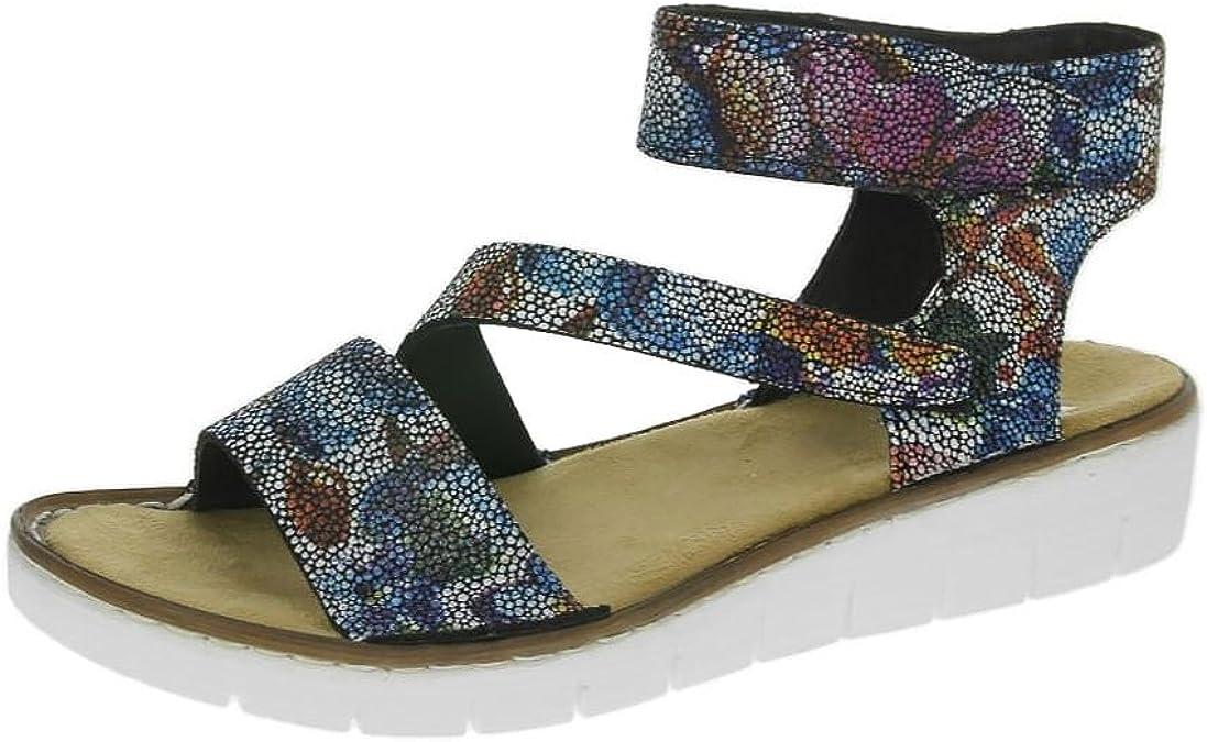 Rieker Sandals 60012 90 Black Multi: Amazon.ca: Shoes & Handbags ZwwP0