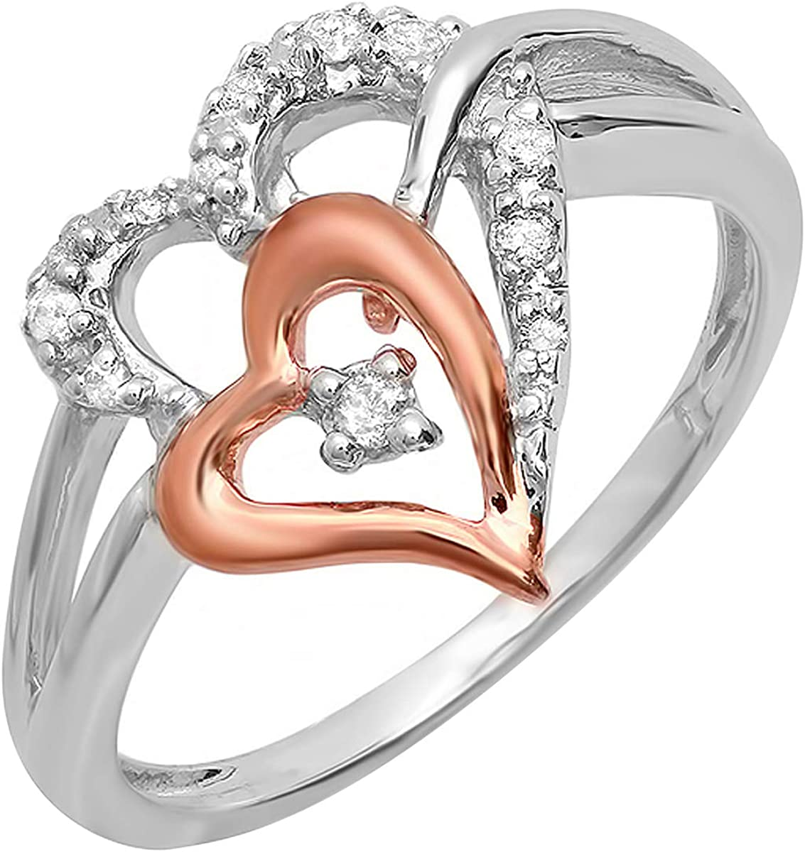 Dazzlingrock Collection 0.13 Carat ctw Portland Mall Pink Sterling 2021new shipping free Silver
