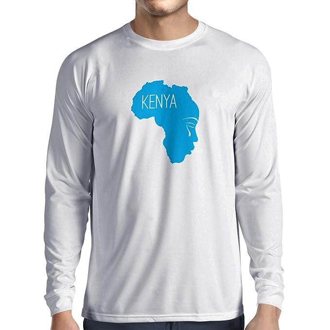 Camiseta me Para ¡salva Lepni KeniaLemas Larga Hombre De Manga A n0N8wm