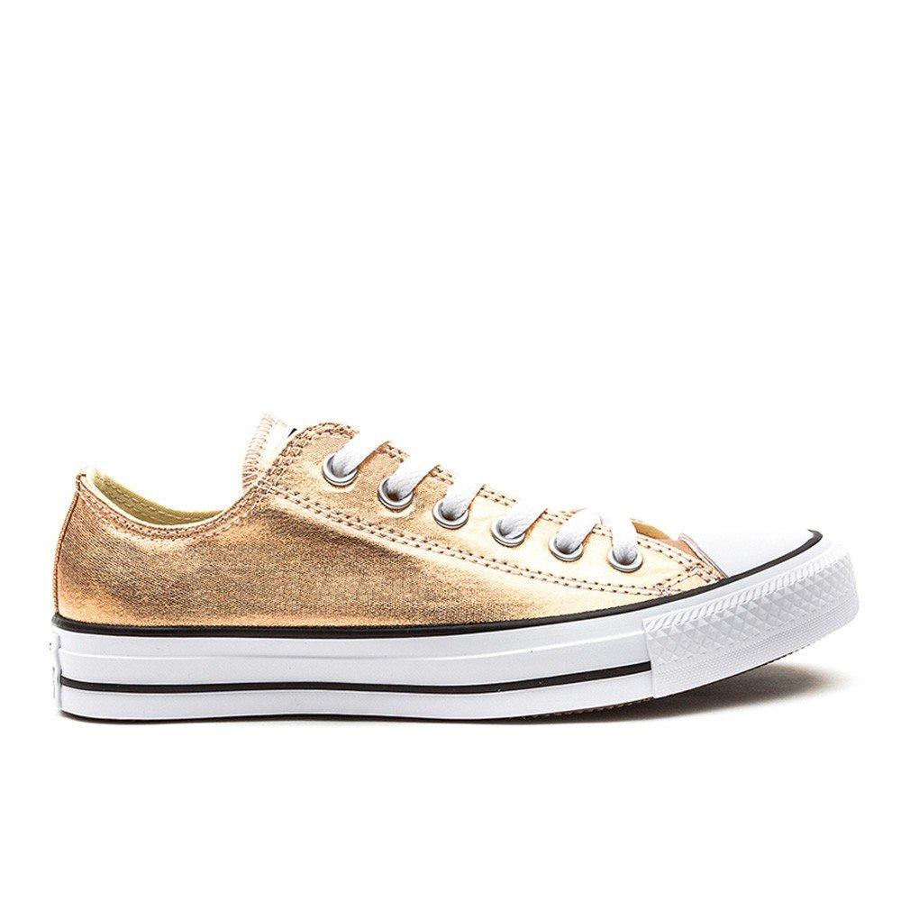 Converse Converse Converse Damen Schuh Chuck Taylor OX Schlangenhautmuster Silber/Weißszlig; Metallic|pink 978244