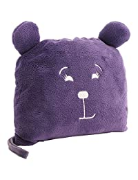 Lug UCB Agent Pufferton Blanket and Pillow, Plum Purple