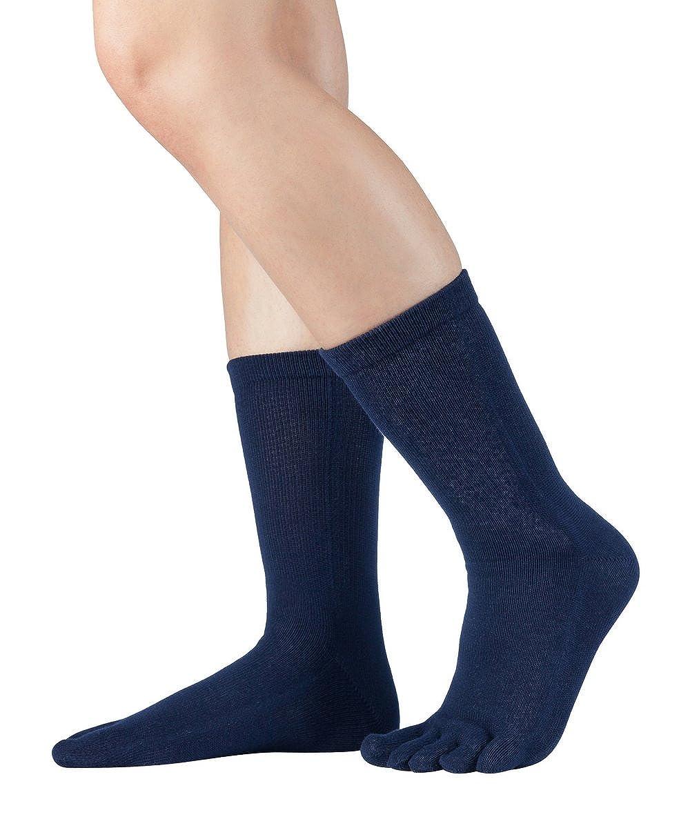 Knitido wadenlange Zehensocken aus Baumwolle Essentials, 9 Farben, Unisex