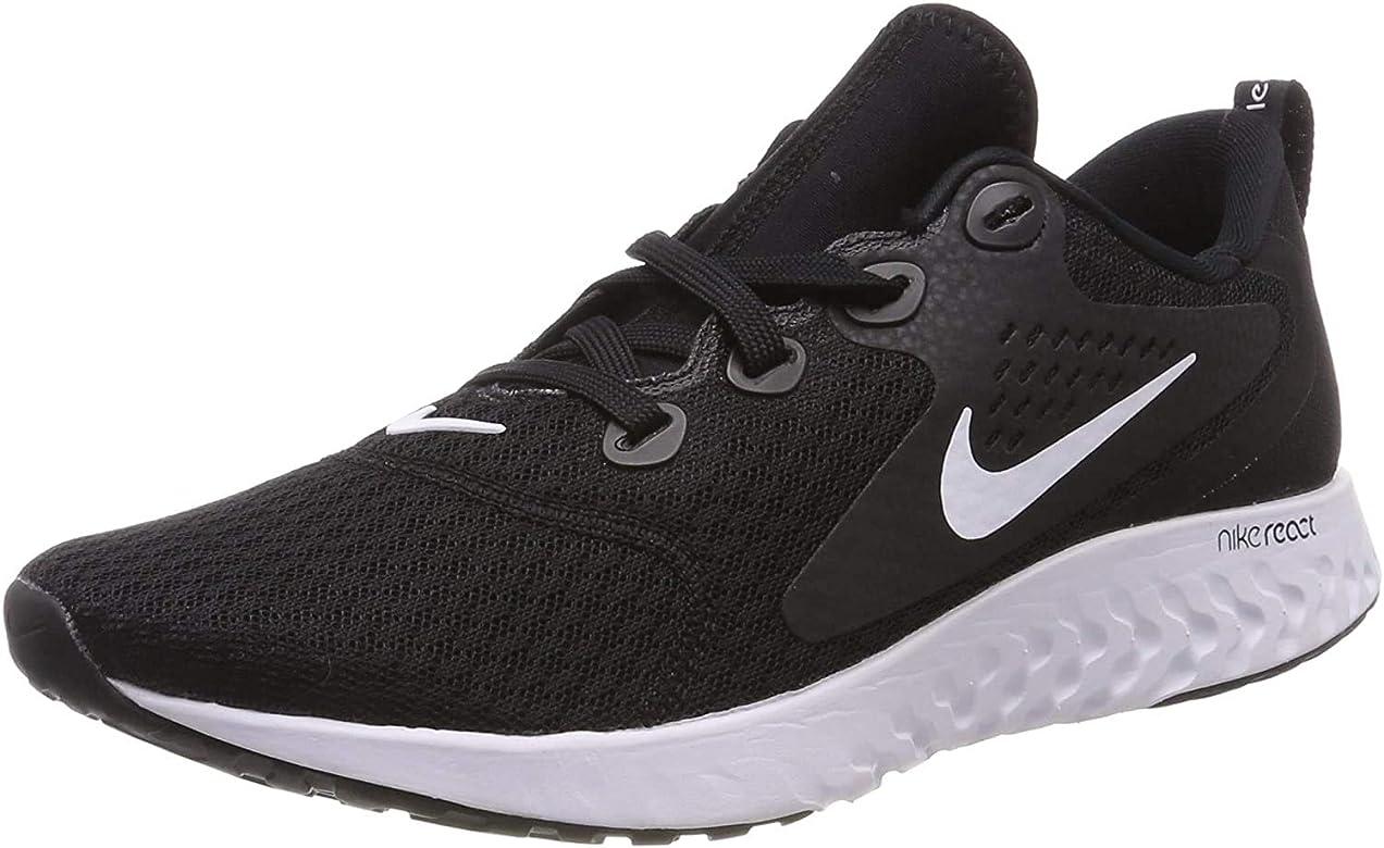 NIKE Legend React, Zapatillas de Running para Hombre, Negro (Black/White 001), 41 EU: Amazon.es: Zapatos y complementos