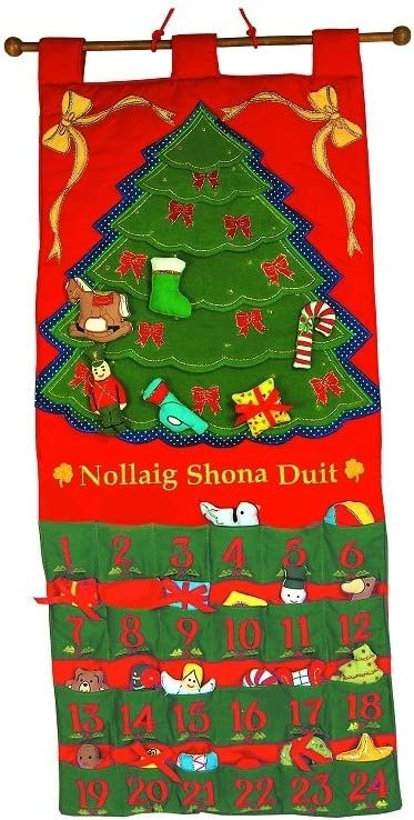 Happy Christmas Red or Green Nollaig Shona Duit