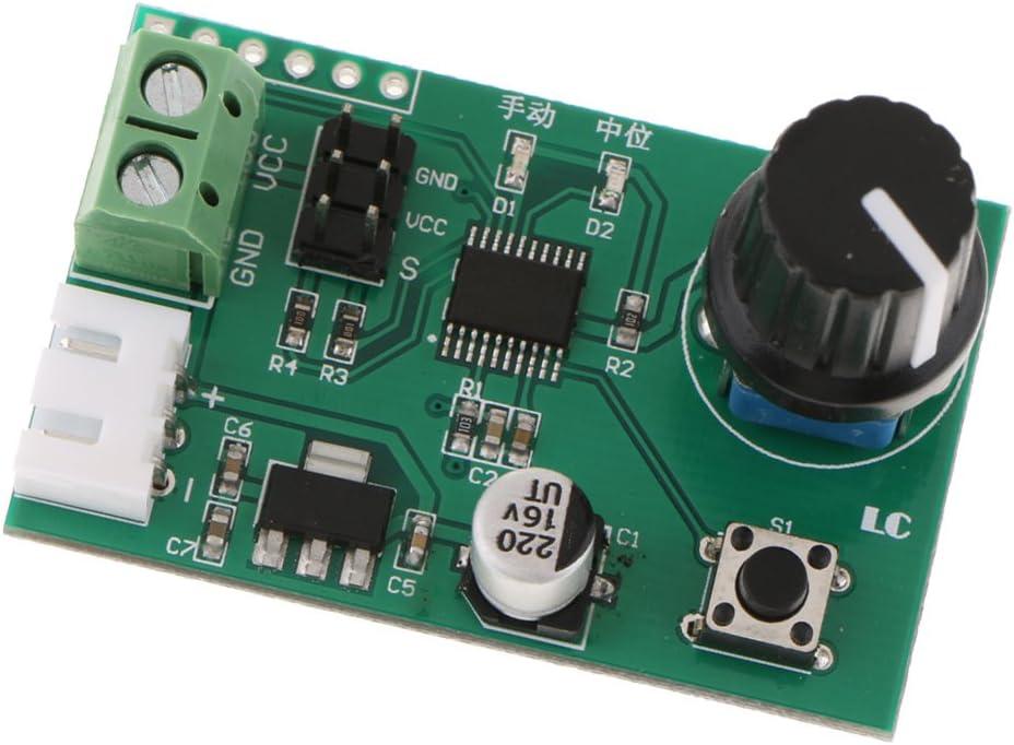 Demarkt PCA9685 16 Kanal 12-Bit PWM Servomotor Treiber IIC Modul f/ür Arduino Roboter-Schnittstelle I2C Modul