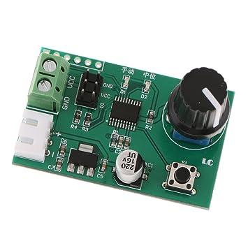 Tarjeta de Control de Puerto Serial de Servo Motor De 2 Canales con Botón para Arduino