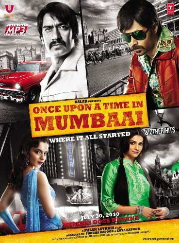 Once Upon Time In Mumbai & Other Hits [New Hindi Film Songs/ Indian Cinema Music / Bollywood Soundtrack MP3 CD] by Mohit Chauhan, Rahat Fateh Ali Khan, Tulsi Kumar, K.K, Dominique Cerejo, Himesh (2010) Audio CD