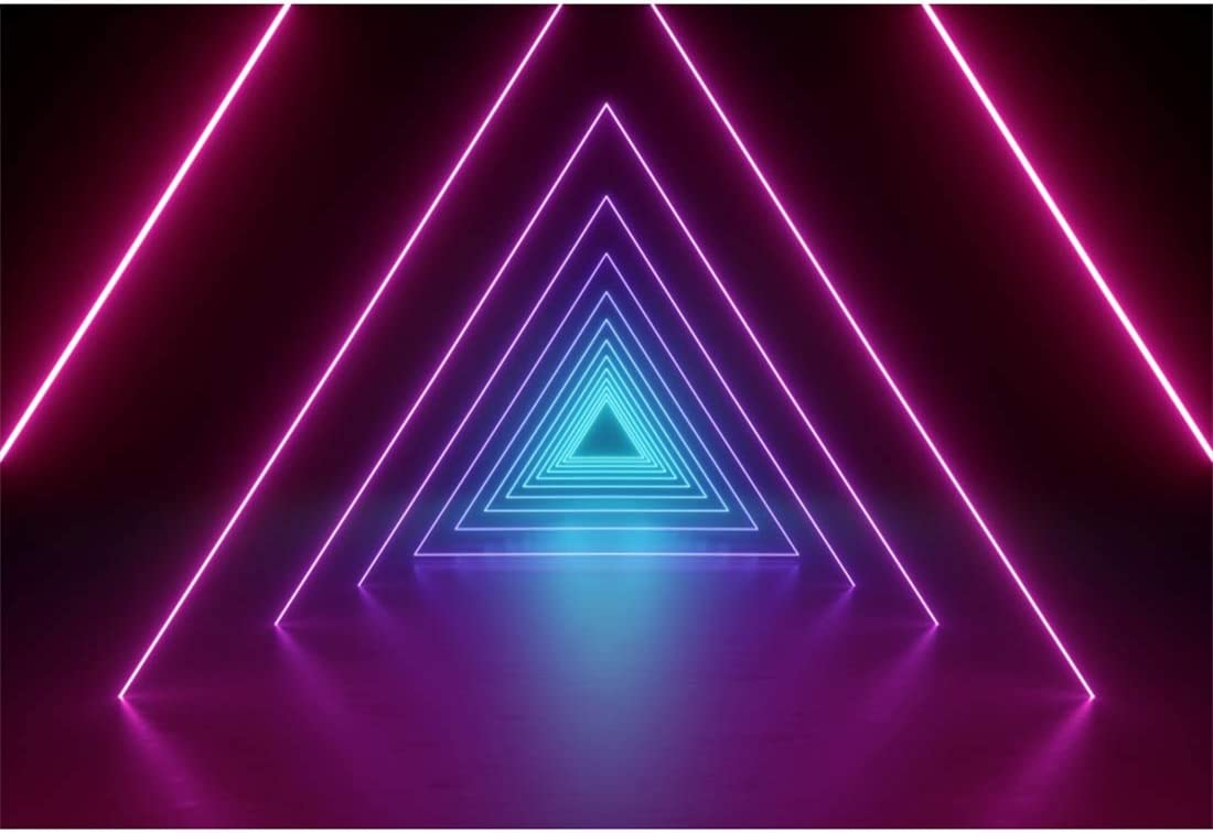 Amazon Com Yeele 7x5ft Disco Dance Party Backdrop For Photography Neon Adults Party Decoration Aperture Neon Lights Bright Ballroom Tunnel Stage Background Party Event Banner Photo Booth Shoot Studio Props Camera