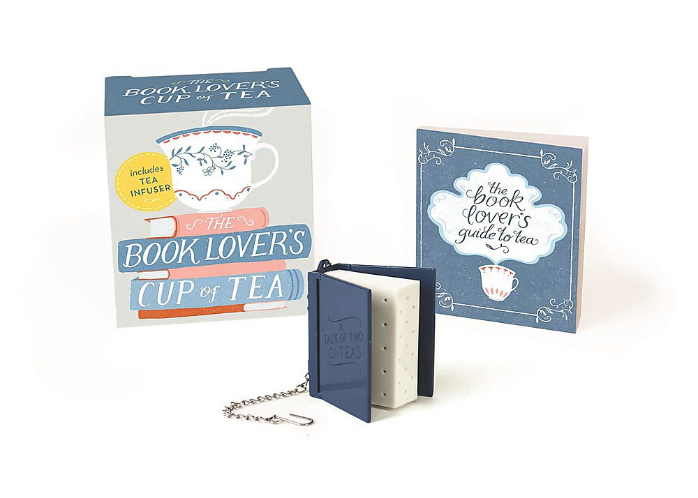 The Book Lover's Cup Of Tea  Includes Tea Infuser  RP Minis
