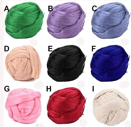 9 Farben Diy Chunky Wolle Stricken Acryl Garn Dicke Nähen Schal