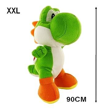 GUIZMAX Gigante Peluche Yoshi Verde Nintendo 90 cm XXL