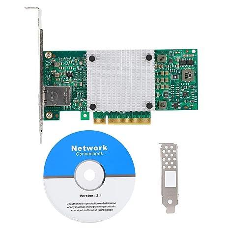 Tarjeta Ethernet, procesador X550-T1 Adaptador de tarjeta de red ...