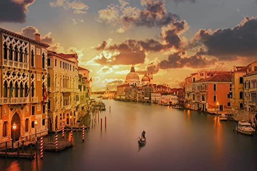 Venice Italy Gondolas Large Wall Poster New Laminated Available
